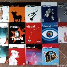 Coleccionismo de Revistas y Periódicos: LOTE 14 REVISTAS VISUAL. Lote 121610292