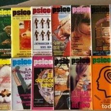 Coleccionismo de Revistas y Periódicos: PSICODEIA, PSICOLOGÍA DE HOY - LOTE DE 16 REVISTAS DEL 56 AL 69 - AÑOS 70/80.. Lote 121646983