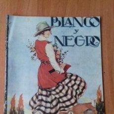 Coleccionismo de Revistas y Periódicos: REVISTA BLANCO Y NEGRO. AÑO 32. NUM 1646. 1922. LEER.. Lote 121660903