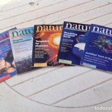 Coleccionismo de Revistas y Periódicos: 5 REVISTAS NATURE. Lote 121668307
