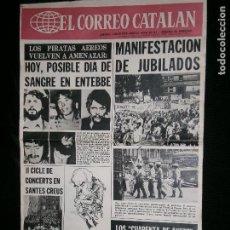 Coleccionismo de Revistas y Periódicos: F1 EL CORREO CATALAN AÑO 1976 SALVADOR DALI UN CATALAN DE L'EMPORDA. Lote 121702399