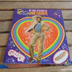 Coleccionismo de Revistas y Periódicos: ALBUM MI LIBRO PERSONAL DE JOHN TRAVOLTA DE LA REVISTA SUPER POP . Lote 121729087