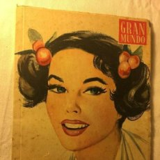 Coleccionismo de Revistas y Periódicos: GRAN MUNDO. Lote 121808235