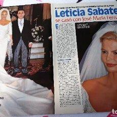 Coleccionismo de Revistas y Periódicos: LETICIA SABATER . Lote 121819359