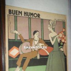 Coleccionismo de Revistas y Periódicos: REVISTA BUEN HUMOR.12 OCTUBRE 1924.NUMERO 150. Lote 121820775