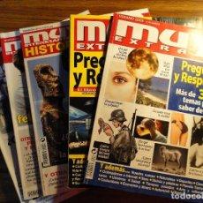 Coleccionismo de Revistas y Periódicos: LOTE DE 5 REVISTAS MUY HISTORIA, EXTRA, P&R..... Lote 121857755
