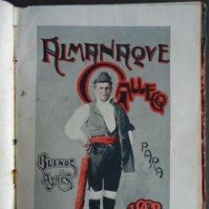 Coleccionismo de Revistas y Periódicos: GALICIA.'ALMANAQUE GALLEGO' AÑOS 1900-1901-1902. BUENOS AIRES. MANUEL CASTRO LOPEZ. DEDICADOS. Lote 121879523