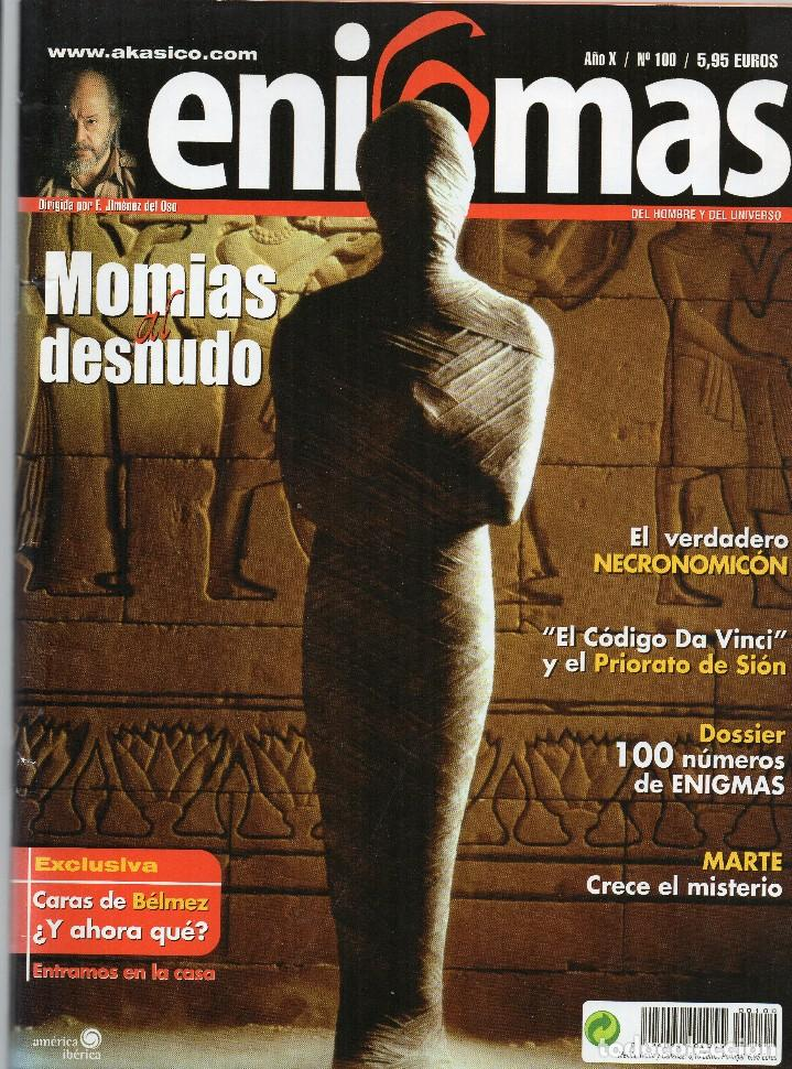 REVISTA ESOTÉRICA ENIGMA Nº 100 CON SUPLEMENTO (Coleccionismo - Revistas y Periódicos Modernos (a partir de 1.940) - Otros)