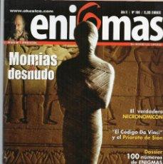 Coleccionismo de Revistas y Periódicos: REVISTA ESOTÉRICA ENIGMA Nº 100 CON SUPLEMENTO. Lote 121897299