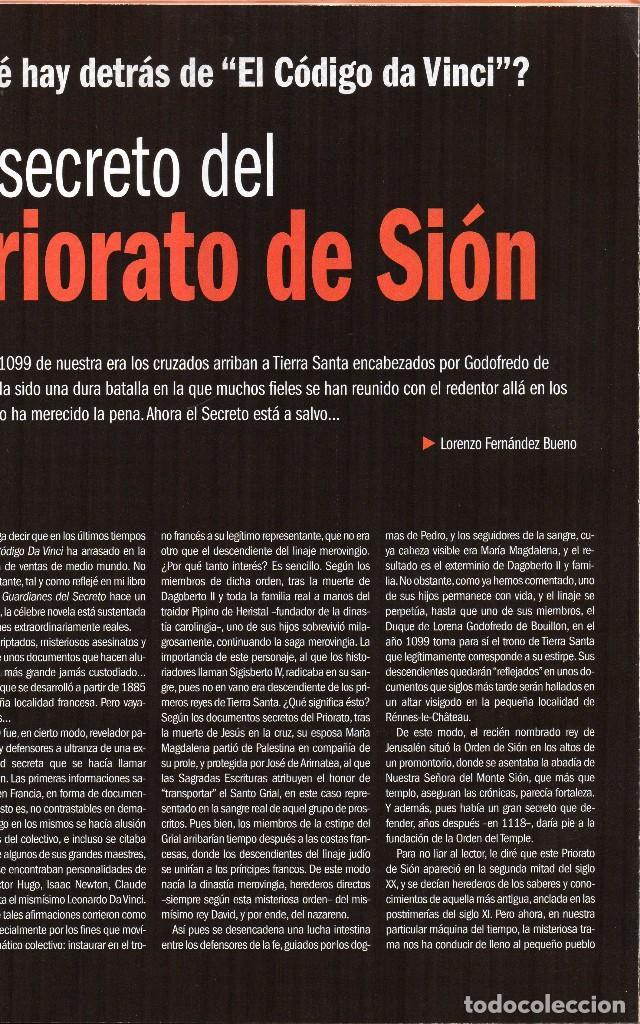 Coleccionismo de Revistas y Periódicos: revista esotérica enigma nº 100 con suplemento - Foto 2 - 121897299