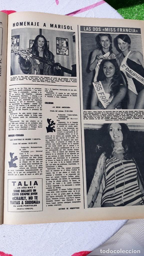 MISS FRANCIA MARISOL PEPA FLORES MARISOL (Coleccionismo - Revistas y Periódicos Modernos (a partir de 1.940) - Otros)