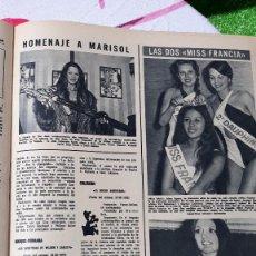 Coleccionismo de Revistas y Periódicos: MISS FRANCIA MARISOL PEPA FLORES MARISOL . Lote 123554687