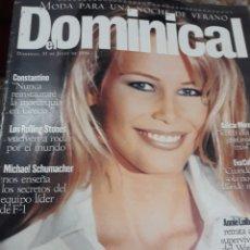 Coleccionismo de Revistas y Periódicos: REV. DOMINICAL.7/1994:.-CLAUDIA SHIFFER. Lote 121937588
