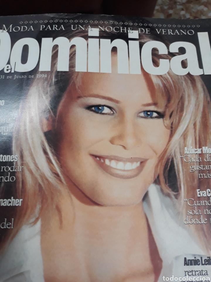 Coleccionismo de Revistas y Periódicos: REV. DOMINICAL.7/1994:.-CLAUDIA SHIFFER - Foto 2 - 121937588