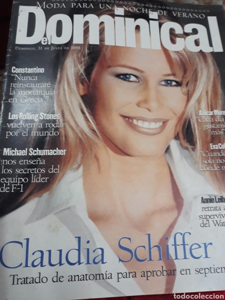 Coleccionismo de Revistas y Periódicos: REV. DOMINICAL.7/1994:.-CLAUDIA SHIFFER - Foto 3 - 121937588