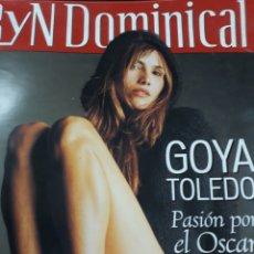 Coleccionismo de Revistas y Periódicos: REV. 2/2001 DOMINICAL GOYA TOLEDO GRAN RPTJE. J. MANUEL REINA, IKER CASILLAS,PEDRO GUERRA,. Lote 121938032