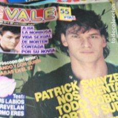 Coleccionismo de Revistas y Periódicos: NUEVO VALE A-HA PATRICK SWAYZE LESLIE ANN DOWN ANA OBREGON 1987. Lote 121962499