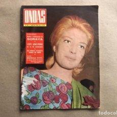 Coleccionismo de Revistas y Periódicos: REVISTA ONDAS N° 324 (1ª QUINCENA JUNIO 1966). PEKENIKES, LOUIS AMSTRONG, MONICA VITTI,... Lote 121998671