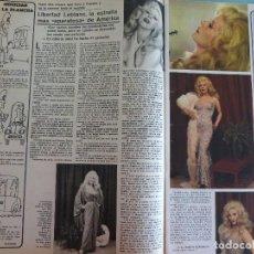Coleccionismo de Revistas y Periódicos: RECORTE REPORTAJE CLIPPING DE LIBERTAD LEBLANC REVISTA SEMANA Nº 1927. Lote 122020999