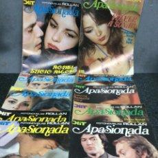 Coleccionismo de Revistas y Periódicos: FOTONOVELAS ROLLAN - APASIONADA , LOTE DE 10 EJEMPLARES. Lote 122021195