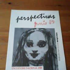 Coleccionismo de Revistas y Periódicos: REVISTA PERSPECTIVAS JUNIO 89. Lote 122088535