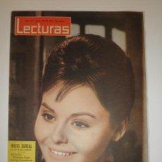 Coleccionismo de Revistas y Periódicos: REVISTA LECTURAS 575 ROCIO DURCAL 1963. Lote 122119203