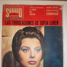 Coleccionismo de Revistas y Periódicos: REVISTA SABADO GRAFICO 436 SOFIA LOREN 1965. Lote 122119387