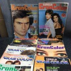 Coleccionismo de Revistas y Periódicos: FOTONOVELA - LUNELA GRAN COLOR - LOTE DE 10 EJEMPLARES. Lote 122131243
