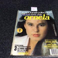 Coleccionismo de Revistas y Periódicos: FOTONOVELA - EXCEPCIONAL COLECCION ,GRAN COLOR , ORNELA- CONTIENE 3 FOTONOVELAS A TODO COLOR. Lote 122135771