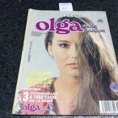 Coleccionismo de Revistas y Periódicos: FOTONOVELA - EXCEPCIONAL COLECCION ,GRAN COLOR , OLGA - CONTIENE 3 FOTONOVELAS A TODO COLOR. Lote 122136131