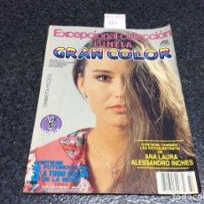 Coleccionismo de Revistas y Periódicos: FOTONOVELA - EXCEPCIONAL COLECCION ,GRAN COLOR , LUNELA - CONTIENE 3 FOTONOVELAS A TODO COLOR. Lote 122136235