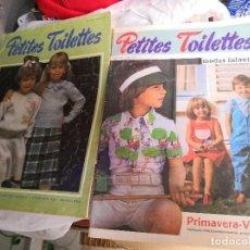 Coleccionismo de Revistas y Periódicos: 2 REVISTAS DE MODA AÑOS 80, COLECCIÓN PETITES TOILETTES. Lote 122164859