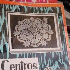 Coleccionismo de Revistas y Periódicos: CENTROS DE CROCHET. Lote 122167715