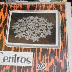 Coleccionismo de Revistas y Periódicos: CENTROS DE CROCHET. Lote 122167751