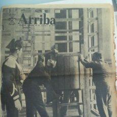 Coleccionismo de Revistas y Periódicos: DIARIO DE FALANGE ARRIBA . 18 OCTUBRE 1958 : CONCLAVE , ETC. Lote 122180255