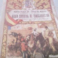 Coleccionismo de Revistas y Periódicos: LA PASIÓN POR LOS TOROS .FASCICULO Nº 2 - TOREROS - ENRIQUE PONCE- FERIA ABRIL - JOSELITO Y BELMONTE. Lote 122181011