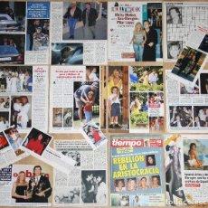 Coleccionismo de Revistas y Periódicos: ANA OBREGON LOTE PRENSA 1980S/90S FOTOS SPAIN SEXY SPAIN ACTRESS CLIPPINGS. Lote 122198635