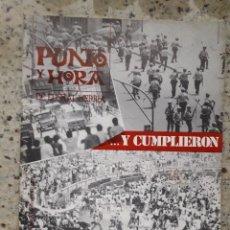 Coleccionismo de Revistas y Periódicos: PUNTO Y HORA 97 22 JULIO 1978.MONOGRAFICO SUCESOS DE SAN FERMIN, DONOSTIA Y RENTERIA.NUMEROSAS FOTOS. Lote 122235003