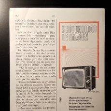 Coleccionismo de Revistas y Periódicos: HOJA PUBLICIDAD. TELEVISION RADIODINA. (READERS DIGEST 1963). Lote 122235051
