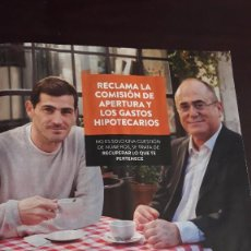 Coleccionismo de Revistas y Periódicos: ANUNCIO ARRIAGA IKER CASILLAS. Lote 122235135