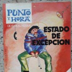 Coleccionismo de Revistas y Periódicos: PUNTO Y HORA 95 6 JULIO 1978.VOTANTES DE EUSKADIKO EZKERRA.MITO DE ROLDAN Y RONCESVALLES . Lote 122235767