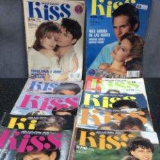 Coleccionismo de Revistas y Periódicos: FOTONOVELA - KISS GRAN COLOR - LOTE DE 21 EJEMPLARES. Lote 122259279