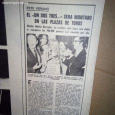 Coleccionismo de Revistas y Periódicos: UN DOS TRES RESPONDA OTRA VEZ. ARTICULO DE PRENSA.. Lote 122261495