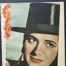 Coleccionismo de Revistas y Periódicos: REVISTA FOTOS 1952 JUANITA REINA RAFAEL ORTEGA UBEDA ESFINGE EGIPTO EVA AL DESNUDO. Lote 122261895