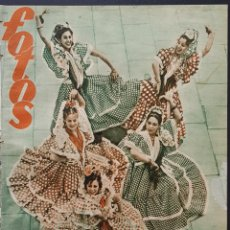 Coleccionismo de Revistas y Periódicos: REVISTA FOTOS 1952 GRACIA ESPAÑOLA EN LONDRES GRETA GARBO LUCILLE BALL MARIA FELIX. Lote 122262907