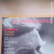 Coleccionismo de Revistas y Periódicos: JOAN MANUEL SERRAT - KATHARINE HEPBURN. Lote 122263371