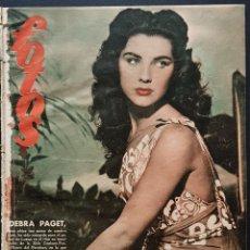 Coleccionismo de Revistas y Periódicos: REVISTA FOTOS 1952 DEBRA PAGET JUDY GARLAND FERIA DE SEVILLA ROBERT TAYLOR EL SUEÑO DE ANDALUCIA . Lote 122264283