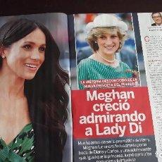 Coleccionismo de Revistas y Periódicos: LADY DI DIANA DE GALES MEGHAN MARKLE. Lote 122268955