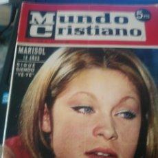 Coleccionismo de Revistas y Periódicos: MARISOL MUNDO CRISTIANO . Lote 122275575