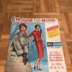 Coleccionismo de Revistas y Periódicos: REVISTA EL HOGAR Y LA MODA 1957 - MUJERES BELLEZA CINE. Lote 122302799